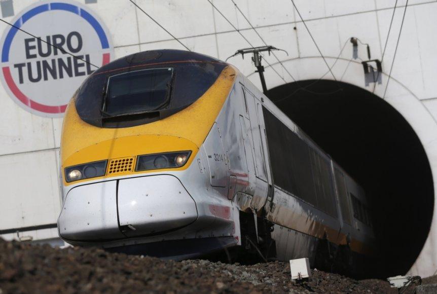 Eurostar traukinys