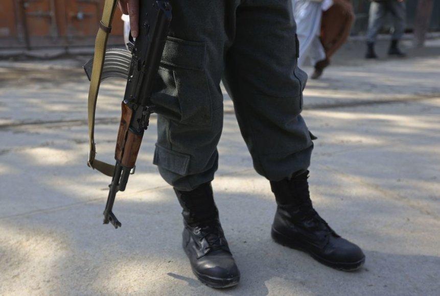 Afganistano policininkas