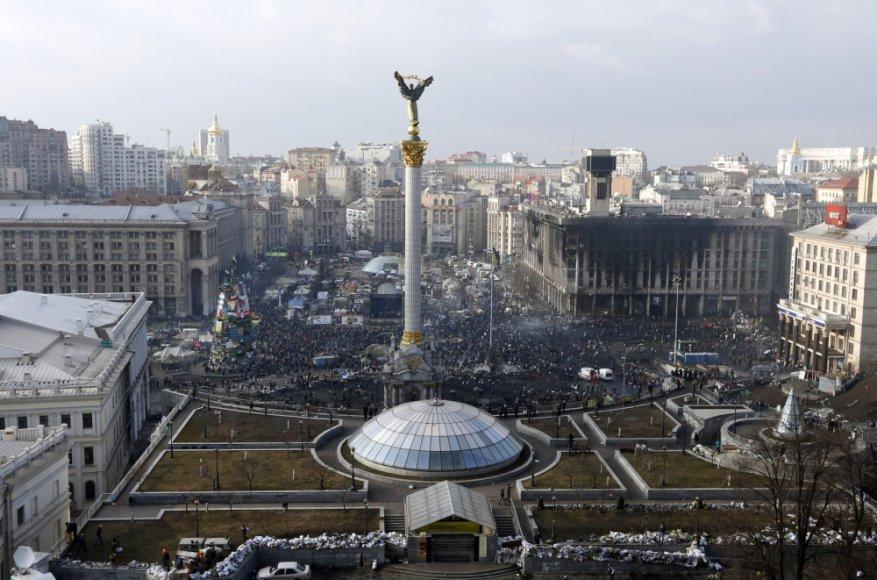 Kijevo Nepriklausomybės aikštė
