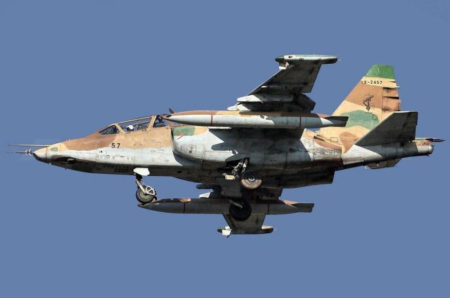 Irano naikintuvas Su-25