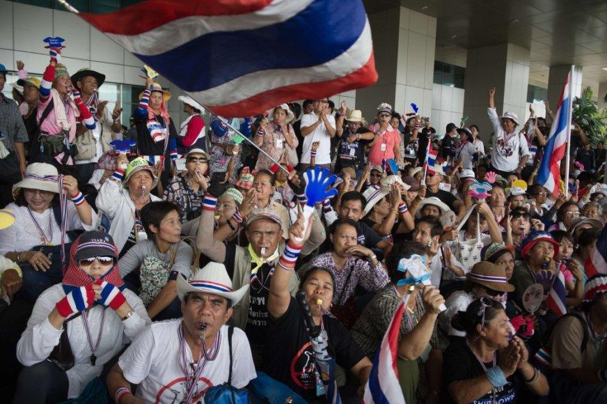 Protestas Tailande