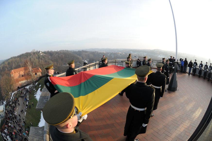 Lietuvos vėliavos diena Vilniuje