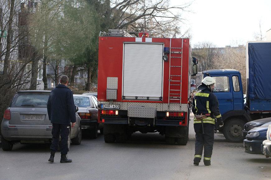 Gaisras Kaune