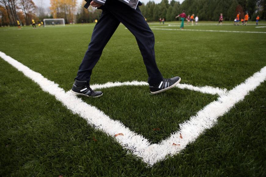 Ugnės Karvelis gimnazijos sporto aikštynas