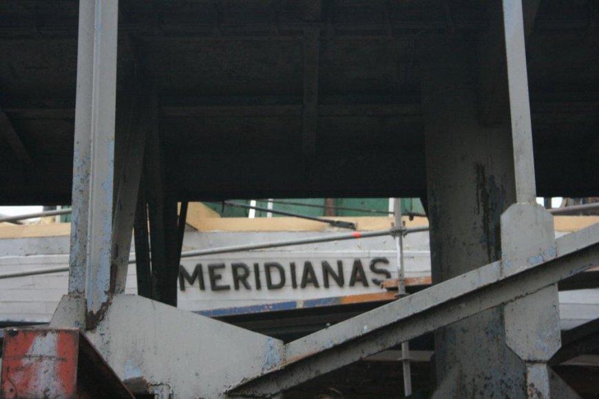 """Burlaivis """"Meridianas"""" pusmetį praleis doke"""
