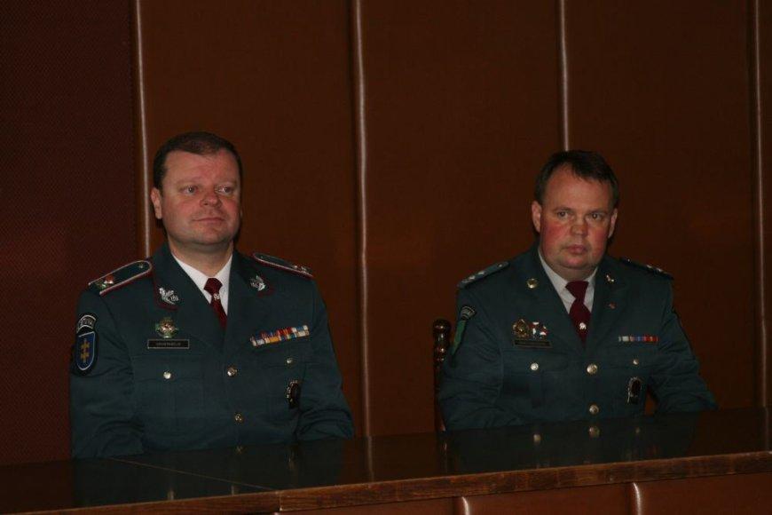 Generalinis komisaras S.Skvernelis pristato S.Mikutavičių