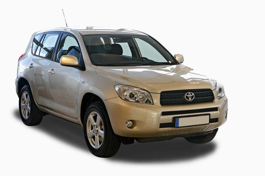 "Gintaro Deksnio ""Toyota RAV4"""