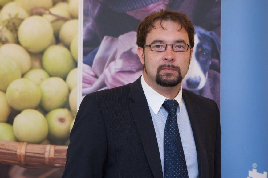"""""""Microsoft Lietuva"""" generalinis direktorius Kristijonas Kaikaris."""