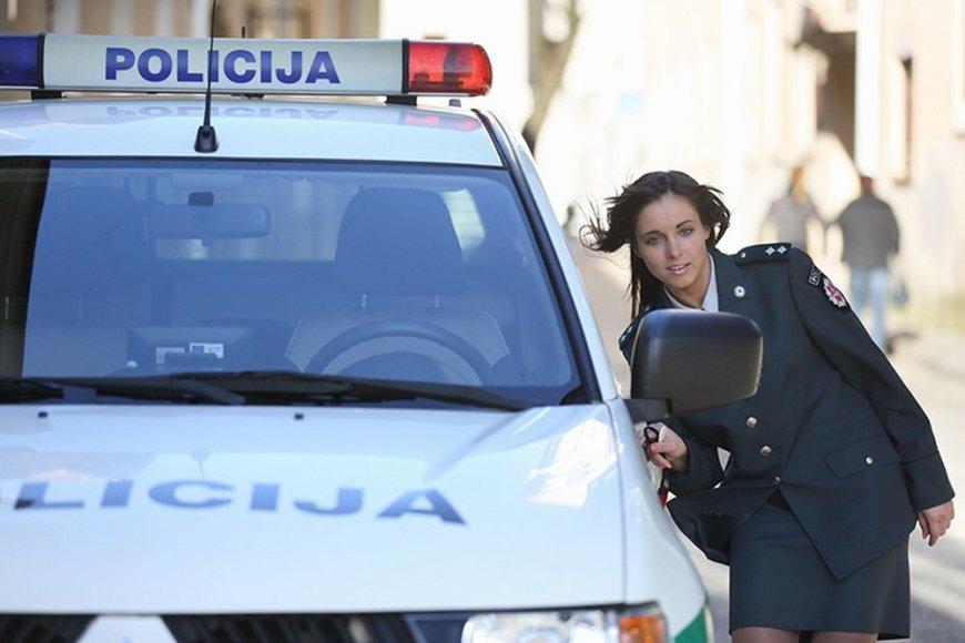 Sausio mėn. policininkė