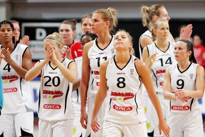 """Vilniaus """"Kibirkšties-VIČI-IKI"""" komanda baigė pasirodymą Europos taurės turnyre."""