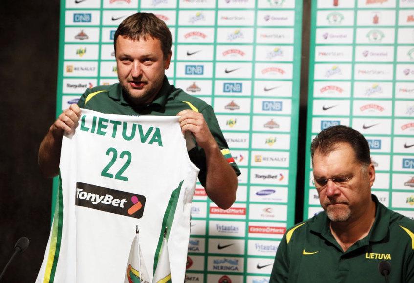 Antanas Guoga ir Arvydas Sabonis