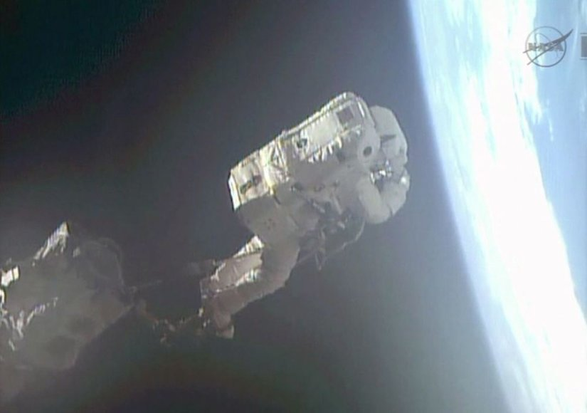 Astronautui Luca Parmitano šis išėjimas į atvirą kosmosą galėjo būti paskutinis