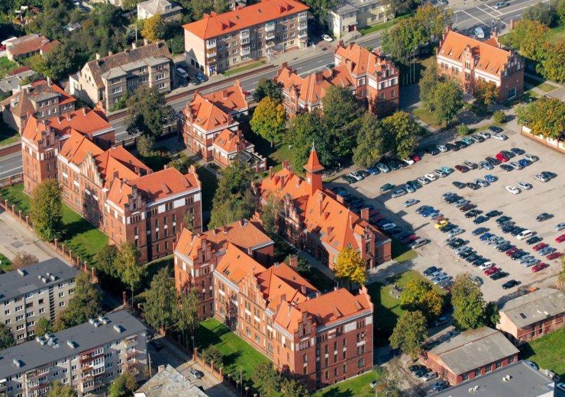 Klaipėdos universitetas iš paukščio skrydžio