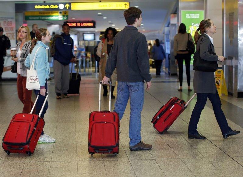 Turistai oro uoste