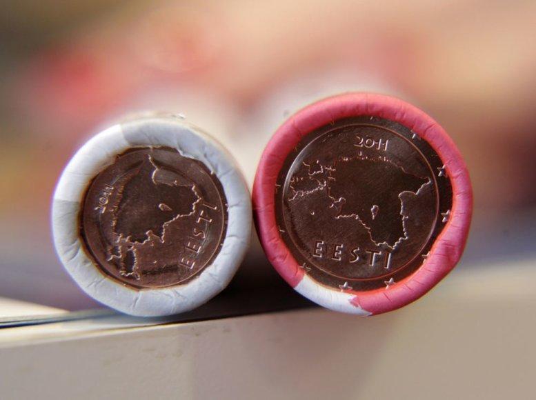 Estijos eurų monetos