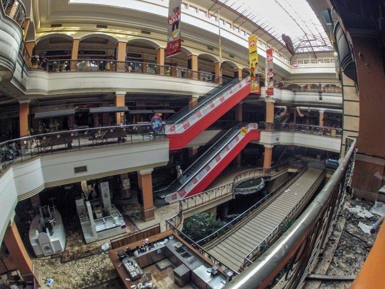 """Nuniokotas """"Westgate"""" prekybos centras"""
