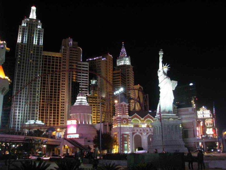 Spindintis Las Vegaso prospektas