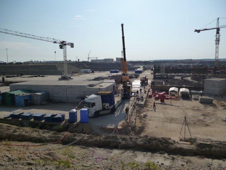 Baltijos atominės elektrinės statyba
