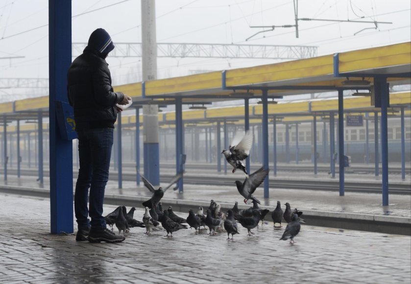 Simferopolio stotyje Kryme