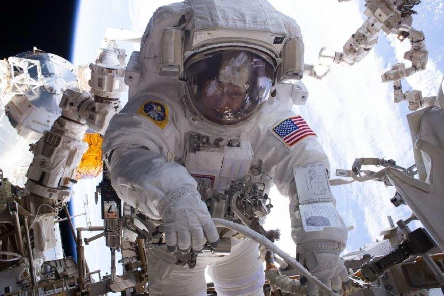 JAV astronautė veteranė 57-erių Peggy Whitson