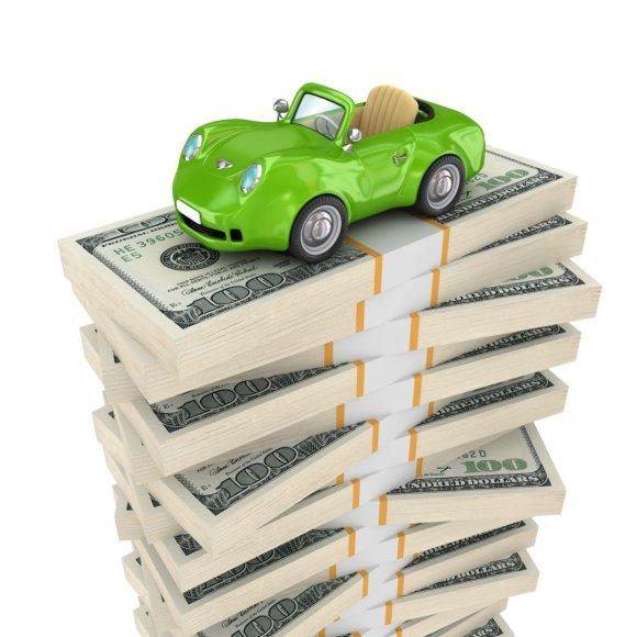 Automobilis, mokestis už automobilį (123 RF)