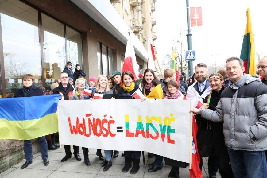 Lietuvos lenkai Nepriklausomybės eisenoje