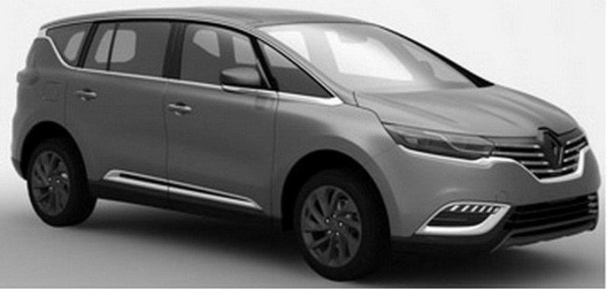 "Penktosios kartos ""Renault Espace"""