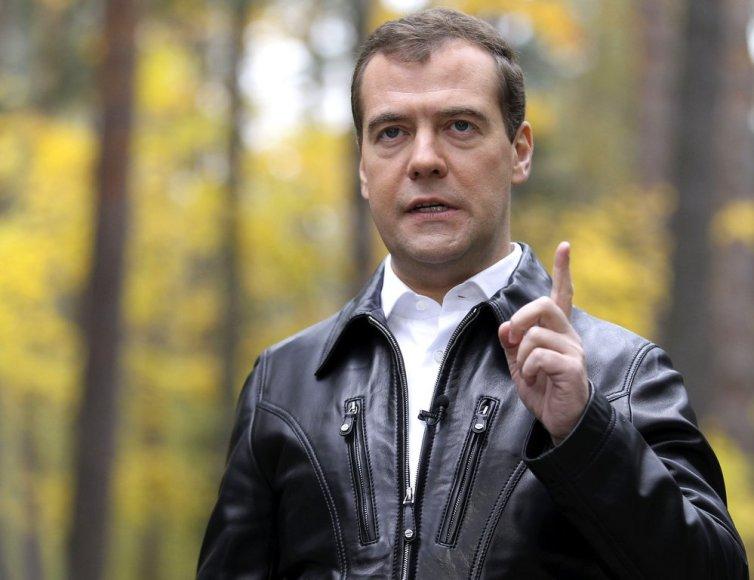 Venemaa peaminister Dmitri Medvedev.