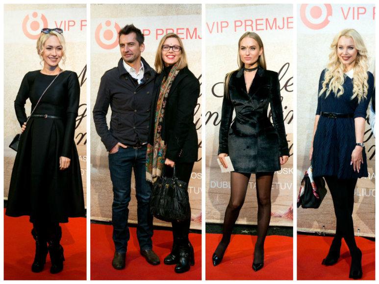 Oksana Pikul-Jasaitienė, Alanas Chošnau su žmona Vaida, Gintarė Gurevičiūtė, Eva Ghaoui