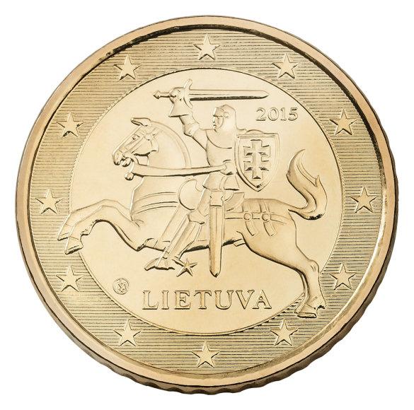 50 euro centų monetos etalonas