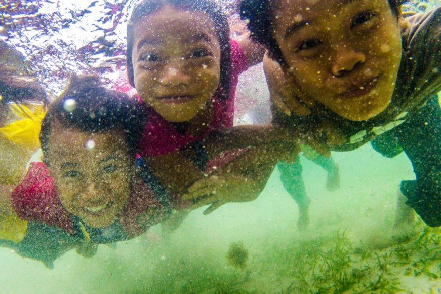 Jūros čigonų vaikai