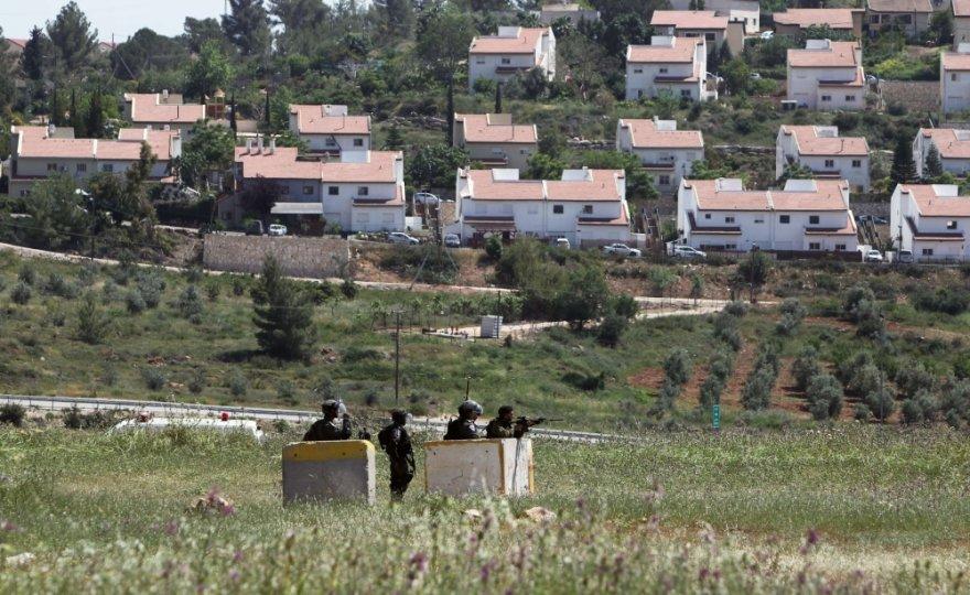 Žydų gyvenvietė okupuotame Vakarų Krante