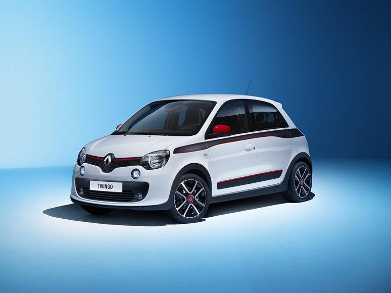 """Naujos kartos """"Renault Twingo"""""""