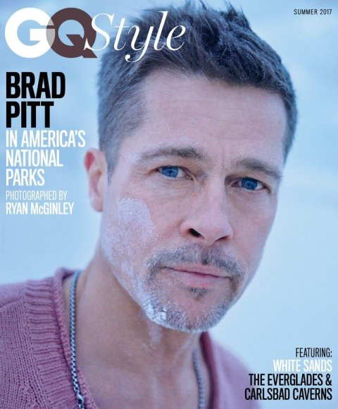GQ/Ryan McGinley nuotr./Bradas Pittas
