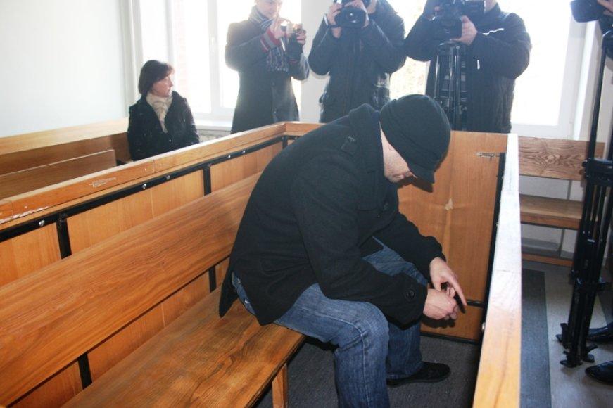 Vytautas Albokas, pripažintas kaltu buvusios mylimosios nužudymo byloje, turės kalėti 11 metų.