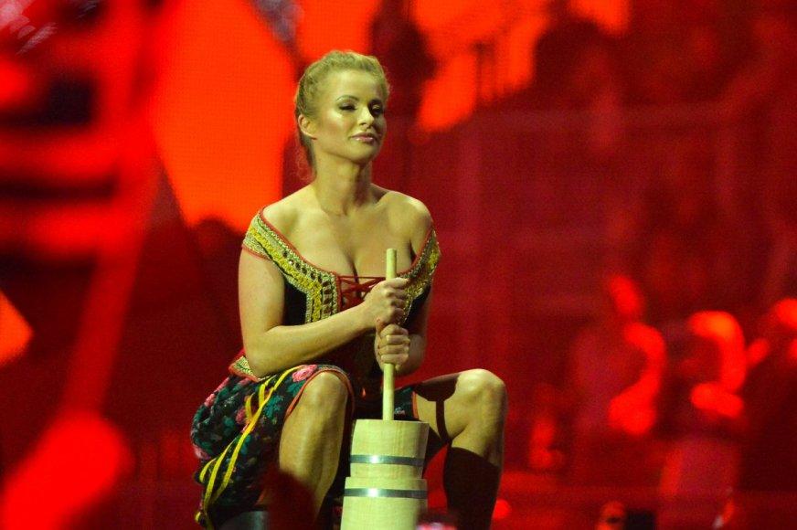 Lenkijos atstovai Donatan ir Cleo