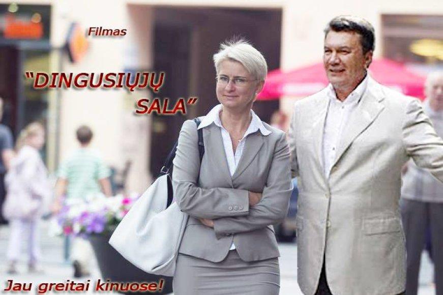 Internautų pokštai apie Viktorą Janukovyčių