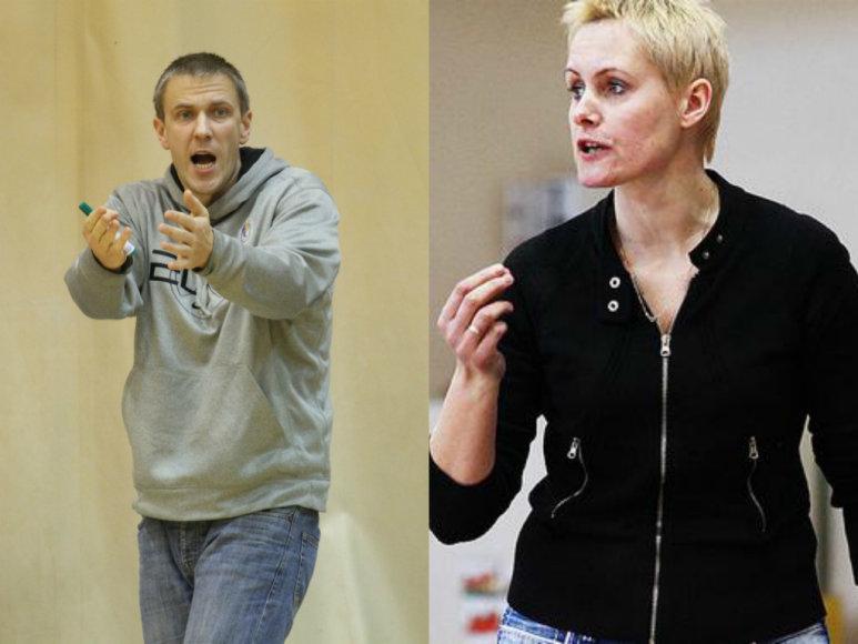 Tomas Purlys ir Gerda Čečkauskienė