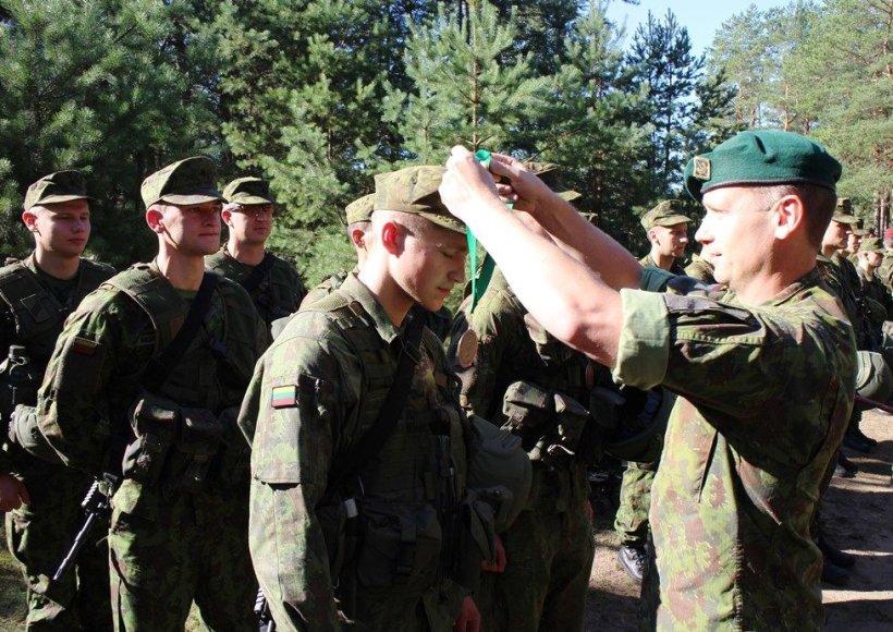 Geriausio Sausumos pajėgų pėstininkų skyriaus varžybos