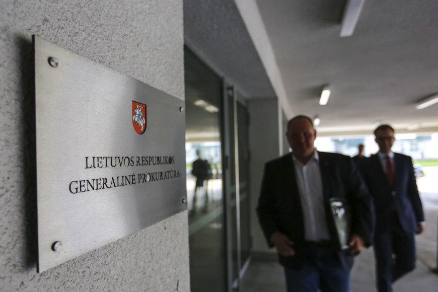 Vytautas Gapšys atvyko į apklausą Generalinėje Prokuratūroje