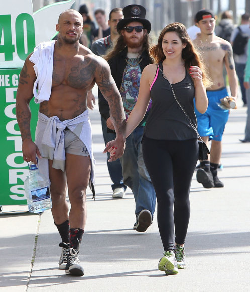 Kelly Brook ir Davidas McIntoshas