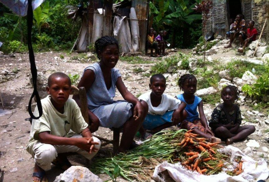 Haičio gyventojai