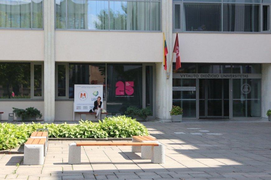 Kaune studentų skveras artimiausiu metu pasipuoš naujais ir rekonstruotais suoliukais