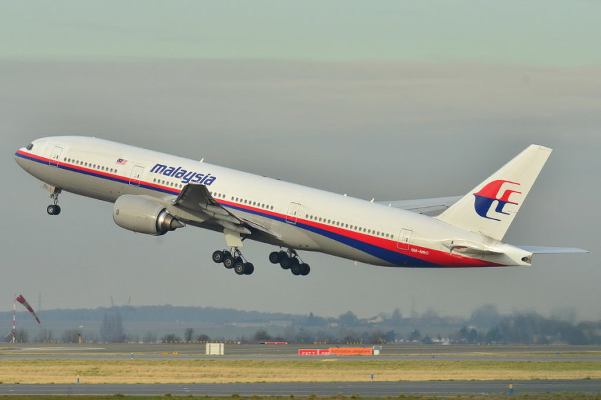 Malaysia Airlinesi Boeing 777-200ER.