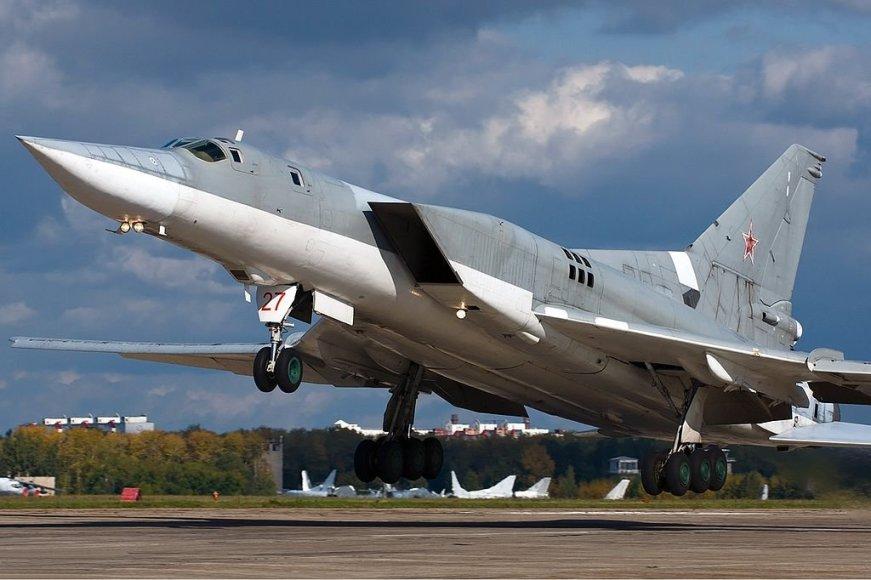 Rusijos naikintuvas Tu-22M3.