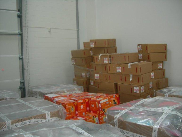 Sulaikytas krovinys iš JAV