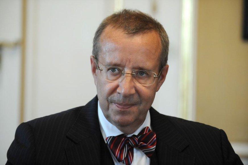 Estijos prezidentas Toomasas Hendrikas Ilvesas