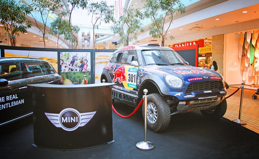 """""""MINI ALL4 Racing"""" Vilniuje"""