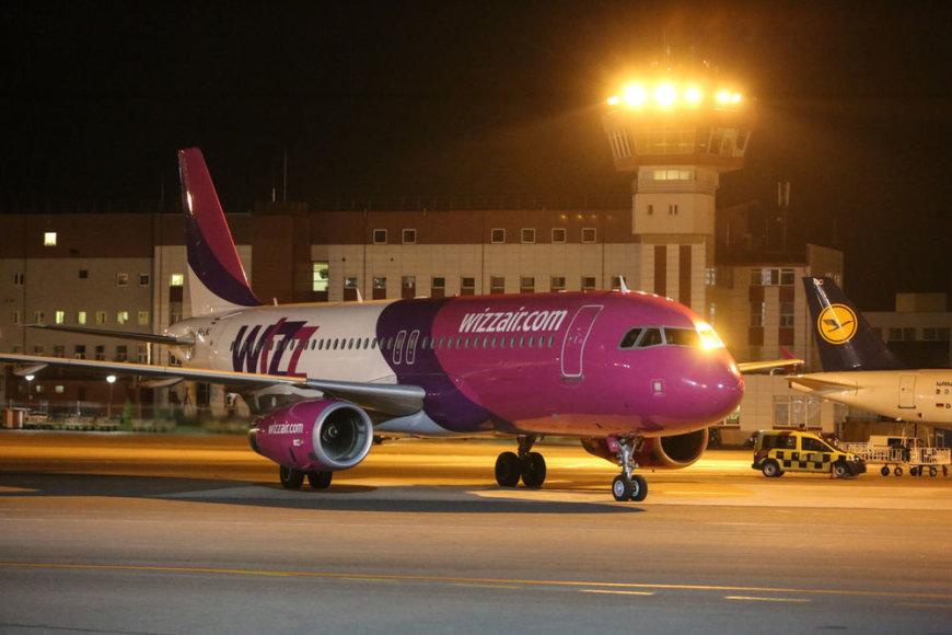 """Wizzair"" lėktuvas"