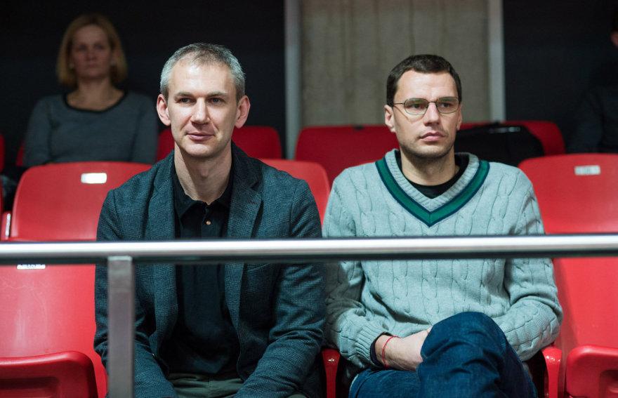 Alfredo Pliadžio nuotr./Martynas Purlys (kairėje)